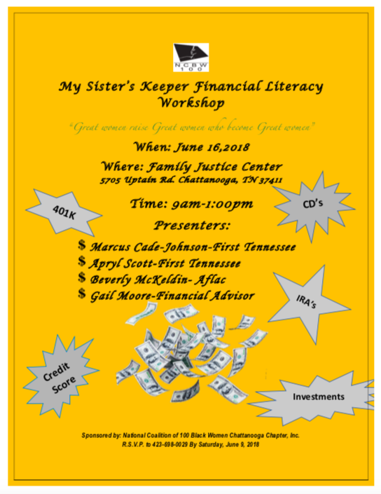Financial Workshop Flyer